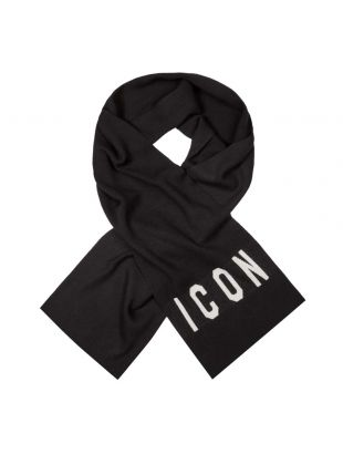 DSquared Icon Scarf | KNM0034 2124 Black