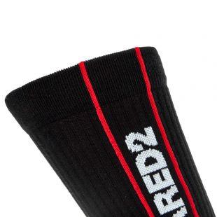Socks - Black / White