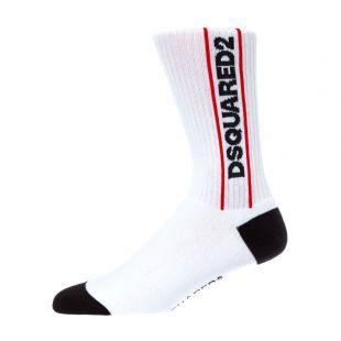DSquared Socks DFV141630 100 White
