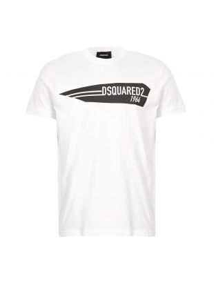 DSquared T-Shirt 1964 Logo | S74GD0657 S22427 100 White