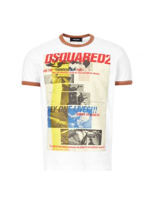 dsquared t-shirt | S71GD0892 S22507 977 white