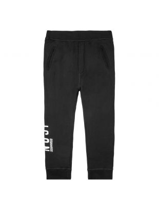 DSquared Sweatpants | S79KA0002 S25042 968 Black / White