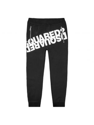 dsquared sweatpants| S74KB0377 S202 900 black