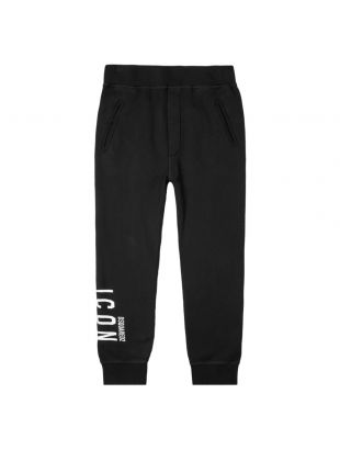 DSquared Sweatpants Logo | SK79KA0004 S25042 900 Black | Aphrodite