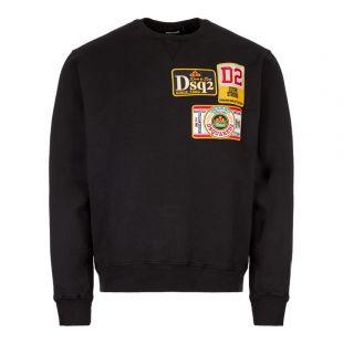 DSquared  Sweatshirt S74GU0330|S25030|900  In Black