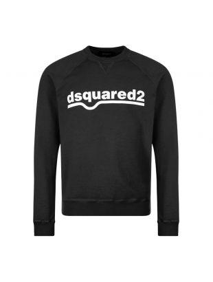 DSquared Sweatshirt , S74GU0460 S25030 900 Black , Aphrodite 1994