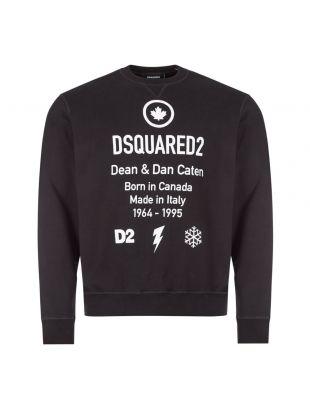 DSquared Sweatshirt | S74GU0425 S25042 900 Black