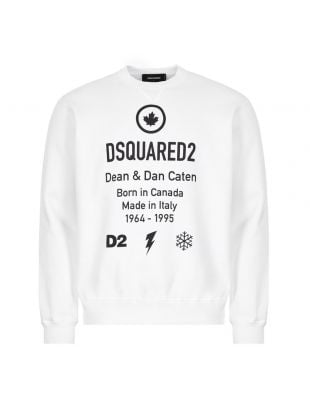 DSquared Sweatshirt | S74GU0425 S25042 100 White