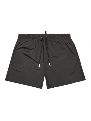 Swim Shorts - Black / White