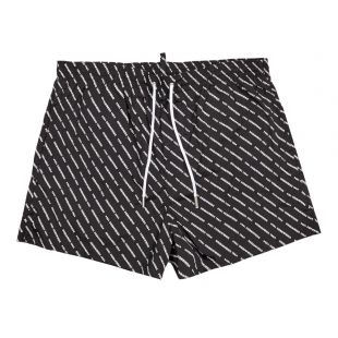 dsquared swim shorts D7B643290 018 black