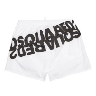 Swim Shorts - White