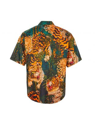 Shirt Tiger Print – Green / Orange