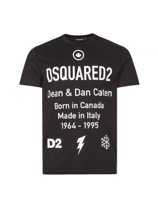 T-Shirt Logo - Black / White