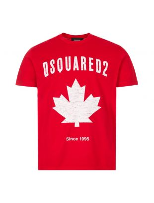 T-Shirt Canada - Red / White