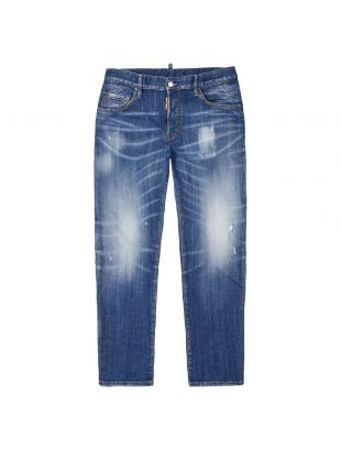 DSquared Skater Jeans | S74LB0715 S30342 470 Light Wash Blue