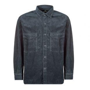 Edwin Corduroy Shirt I027256 EBN GD Blue