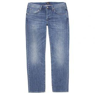 Edwin ED-55 Regular Tapered Jeans IO25197.F8.IB Kingston Blue