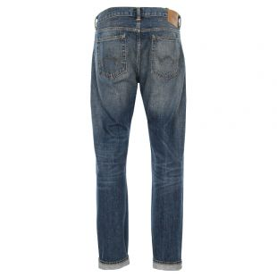 ED-80 Jeans Tapered Blue Wash
