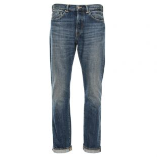 Edwin ED-80 Slim Tapered Red Listed Selvage Jeans IO22483.F8.T4 Blue Wash