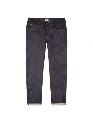 ED 55 White Listed Jeans - Navy