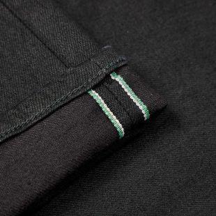 Jeans Slim Tapered - Kaihara Black