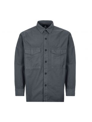 edwin shirt big I027886 EBN GD 03 grey