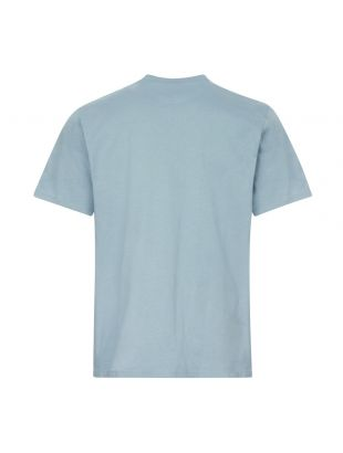 T-Shirt Sun Logo - Blue
