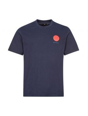 Edwin T-Shirt Sun Logo | I025020 NYB 67 03 Navy | Aphrodite