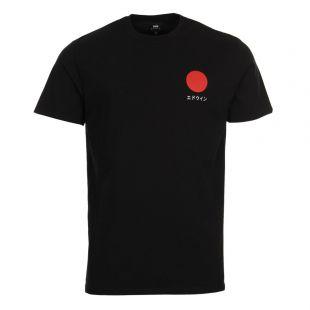 Edwin Sun Logo T-Shirt I025020 02 67 03 Black