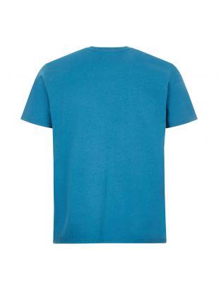 T-Shirt Japanese Sun Logo - Blue