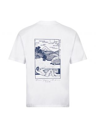 T-Shirt Fuji Scenery - White