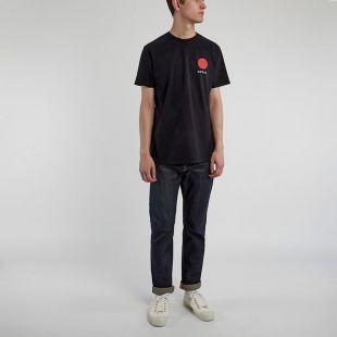 T-Shirt Japanese Sun Logo - Black