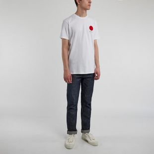 T Shirt Japanese Sun - White