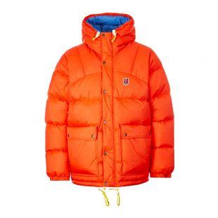Fjallraven Down Jacket Expedition 84605 214 Flame Orange