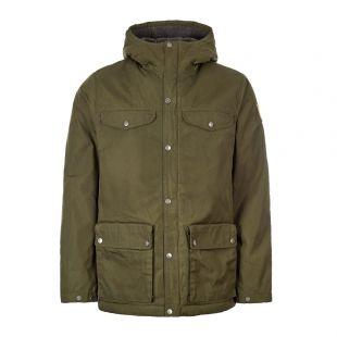 Fjallraven Jacket Greenland Winter 87122 662 Deep Forest / Green