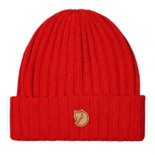 Knitted Hat - Red