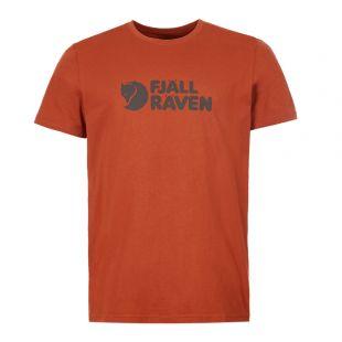 Fjallraven T-Shirt F81956 215 Autumn Leaf