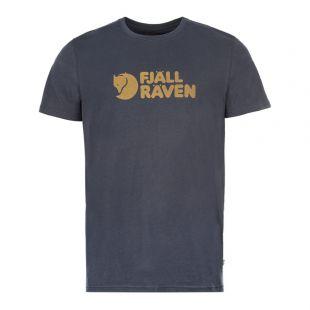Fjallraven T-Shirt F81956 560 Navy