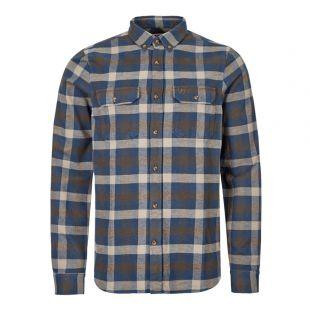 Fjallraven Shirt Skog 81353 646 Blue / Grey