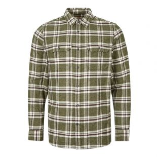 ven Shirt Ovik Heavy Flannel 82978 662 Green