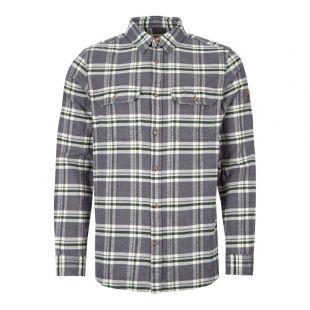 Fjallraven Shirt Ovik Heavy Flannel 82978 042 Dusk / Blue