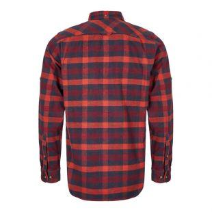 Shirt Skog - Navy / Red