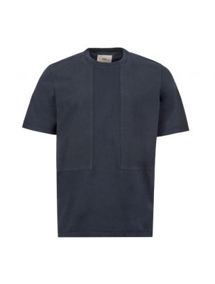 folk t shirt overlay navy FM5354