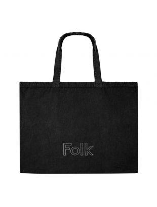 Folk Tote Bag   FP5333A BLK Black