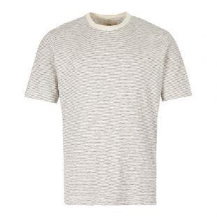 Folk T-Shirt | CI25J Ecru / Navy Stripe