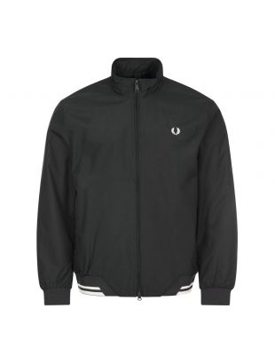 Fred Perry Brentham Jacket | Black