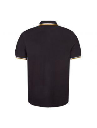 Polo Shirt Twin Tipped - Black