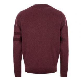 Knitted Sweatshirt - Mahogany Marl