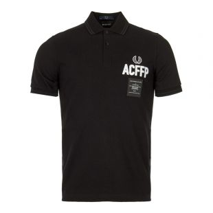 Fred Perry Art Comes First Polo Shirt SM5120 102 Black