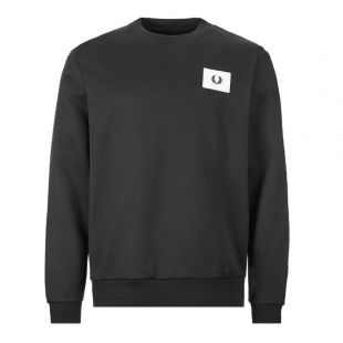 Fred Perry Sweatshirt Acid Brights | M7577 102 Black
